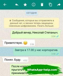 что означает одна галочка в whatsapp
