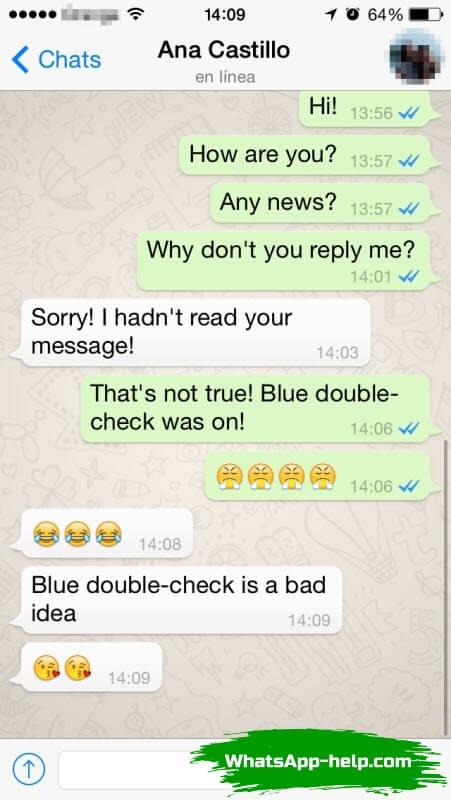 если заблокировать контакт в whatsapp увидит ли он это