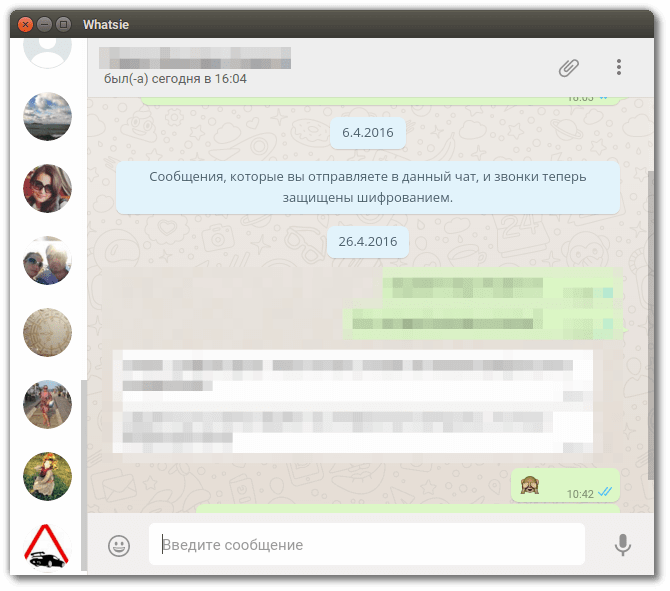 whatsapp для linux mint 18