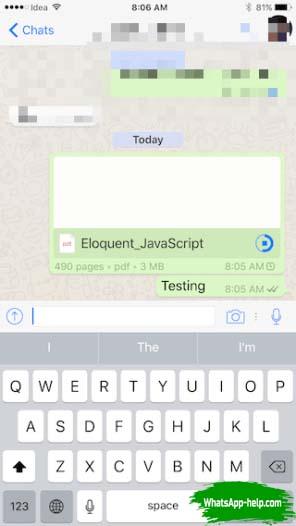 экспорт чата whatsapp в pdf