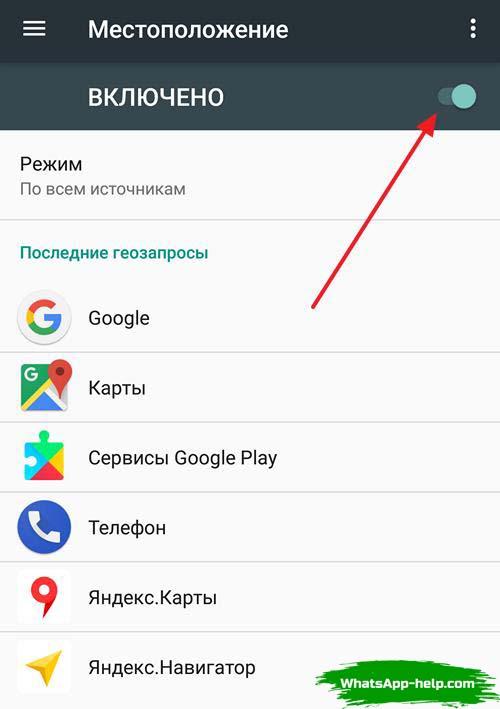 как узнать геопозицию абонента через whatsapp