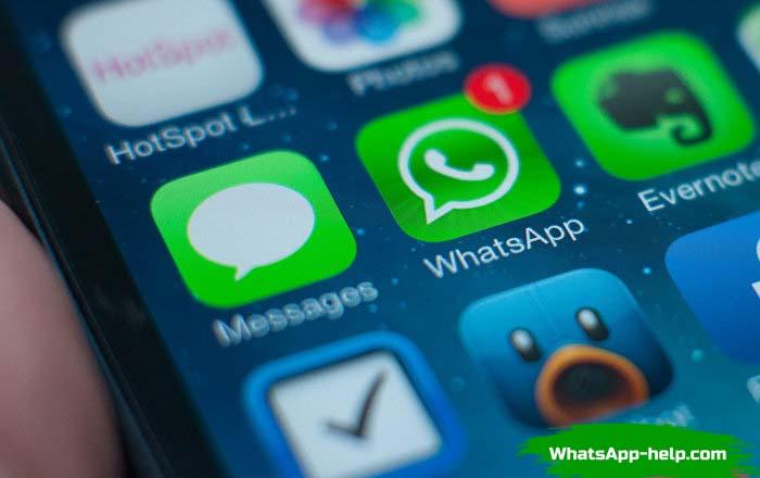 отменить отправку сообщения в whatsapp
