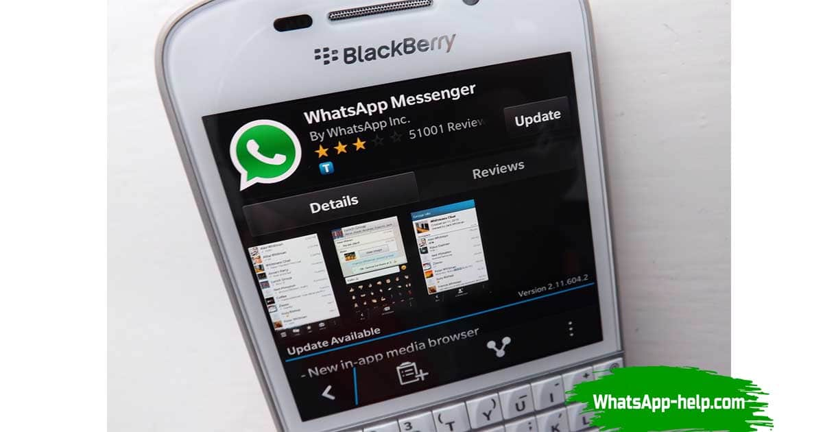 whatsapp для blackberry passport скачать