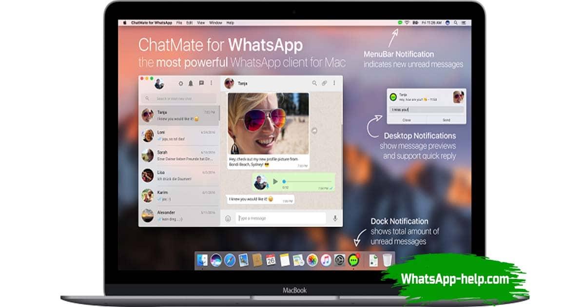 whatsapp для mac os x скачать бесплатно