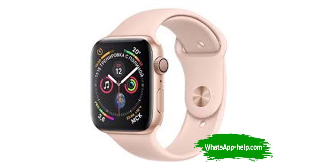 whatsapp apple watch series 3