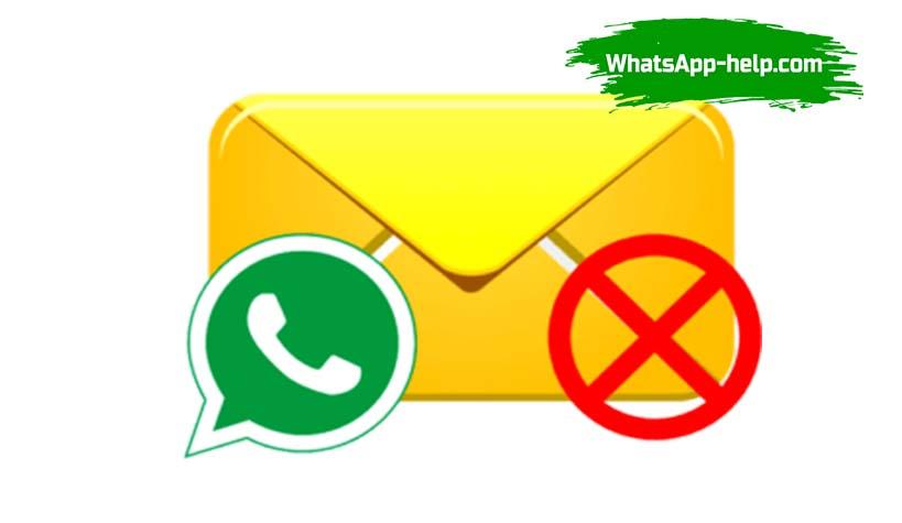 почему ватсап не доставляет сообщения