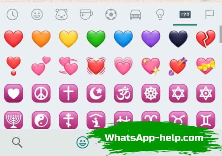 значение смайликов в whatsapp на русском расшифровка