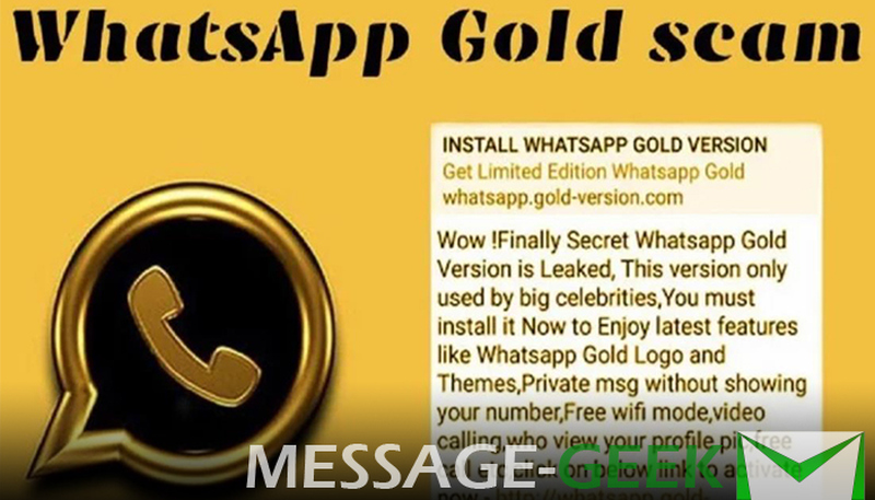 gold whatsapp