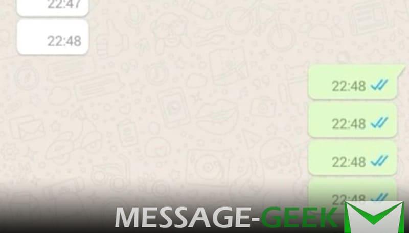 как отправить пустое сообщение в ватсапе