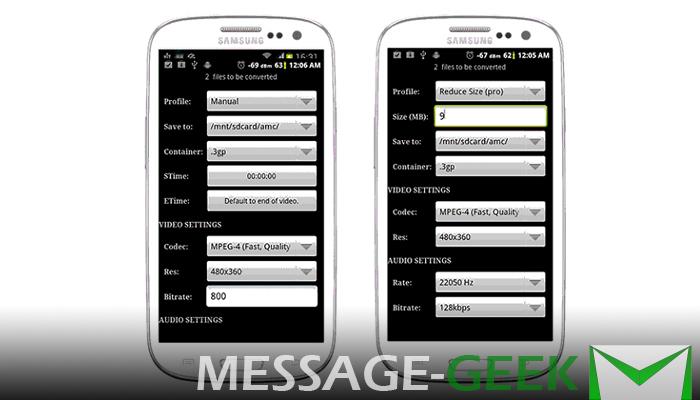 Как уменьшить размер видео для WhatsApp на Android и iPhone